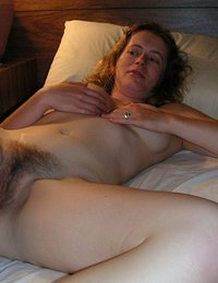 Hairy amateur blonde xxx
